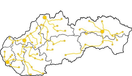 Mapa pokrytia službami